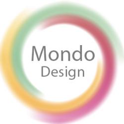لوجو شركة الموندو ديزاينس