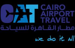 لوجو شركة مطار القاهرة للسياحة
