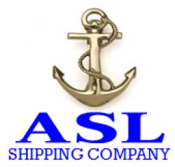 لوجو ASL للشحن الدولى والتخليص الجمركى