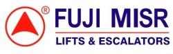 لوجو شركة فوجي مصر للمصاعد والسلالم الكهربائية