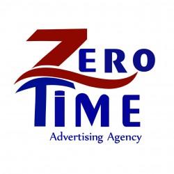 لوجو شركة شركة زيروتايم للدعاية والاعلان