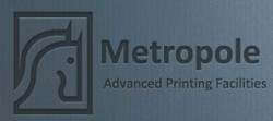 لوجو شركة متروبول للطباعة
