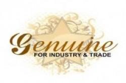 لوجو شركة شركة جينوين للصناعة والتجارة مصنوعات جلدية