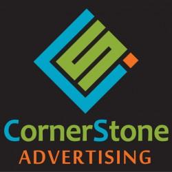 لوجو شركة كورنر ستون للدعاية والاعلان
