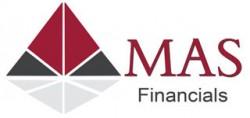 لوجو شركة ماس للخدمات البنكية والتسويق