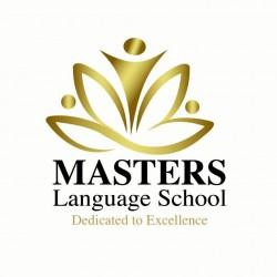 لوجو مدرسة ماسترز لللغات