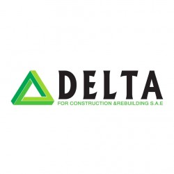لوجو شركة شركة دلتا للانشاء والتعمير