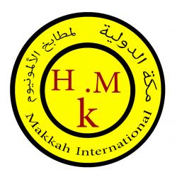 لوجو شركة مكة الدولية لمطابخ الالمنيوم
