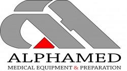 لوجو شركة الفاميد للأجهزة والتجهيزات الطبية