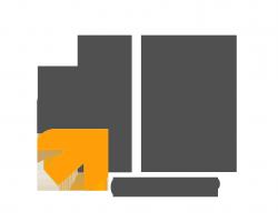 لوجو شركة إتش بي للإنتاج الفني والتوزيع
