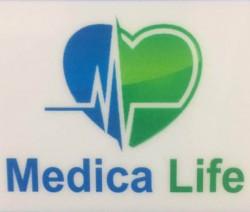 لوجو شركة شركة ميديكا لايف للمستلزمات الطبية