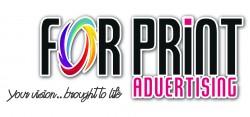 لوجو شركة فور برنت للدعاية والاعلان والطباعة