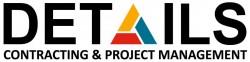 لوجو شركة ديتيلز للمقاولات و ادارة المشاريع