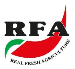 لوجو شركة ريال فريش الزراعية