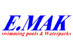 لوجو شركة إيماك لحمامات السباحة والالعاب المائية