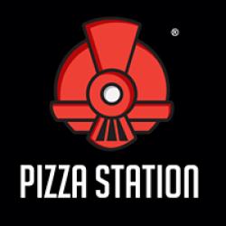 لوجو شركة بيتزا ستيشن