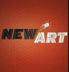 لوجو شركة نيو أرت لشاشات الليد الإعلانية