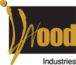 لوجو شركة شركة أي وود للصناعات الخشية