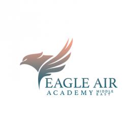 لوجو شركة ايجل اير لعلوم الطيران