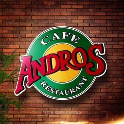 لوجو شركة كافيه و مطعم اندروس