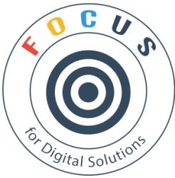 لوجو شركة فوكس للحلول التعليمية و الرقمية