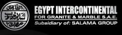 لوجو مصر انتركونتننتال لصناعة الجرانيت و الرخام