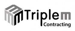 لوجو شركة تريبل ام كونتراكتيج