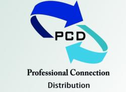 لوجو شركة بروفشينال كونيكشن للتجارة والتوريد PCD