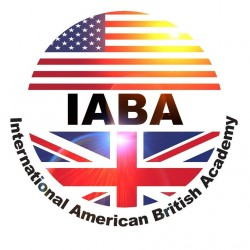 لوجو شركة الأكاديمية الأمريكية البريطانية الدولية التابعة لليونسكو