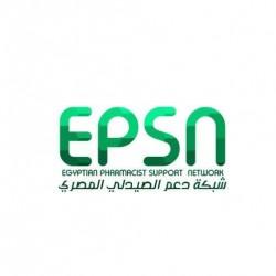 لوجو شركة شبكة دعم الصيدلي المصري