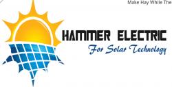 لوجو شركة هامر الكهربائية للتجارة والمقاولات