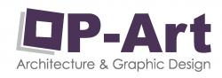 لوجو شركة أوب أرت لتصميمات الجرافيك