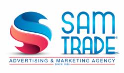 لوجو شركة وكالة سام تريد للدعاية والاعلان