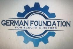 لوجو شركة المؤسسة الالمانية للمحركات الكهربائية