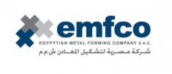 """لوجو شركة مصريه لتشكيل المعادن """"إمفكو"""""""