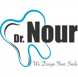 لوجو شركة مراكز دكتور نور  لزراعة وتجميل الاسنان