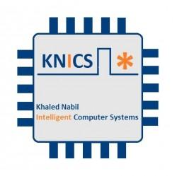 لوجو شركة خالد نبيل لأنظمه الحاسبات الذكيه
