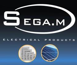 لوجو شركة سيجا ام للمنتجات الكهربائيه