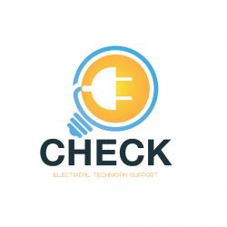 لوجو شركة إتشيك للدعم الفنى الكهربي