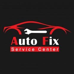 لوجو شركة اوتو فيكس لصيانه و خدمات السيارات