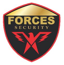 لوجو شركة فورسيز بلس للأمن والحراسة