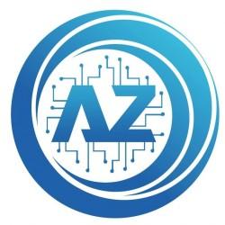لوجو شركة ابو العزايم لخدمات الكمبيوتر وكاميرات المراقبه