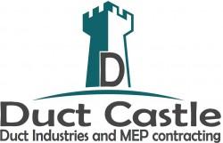 لوجو شركة داكت كاسل لصناعة داكتات التكييف المركزي والمقاولات الكهروميكانيكية