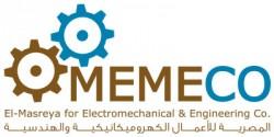 لوجو شركة المصرية للأعمال الكهروميكانيكية والهندسية