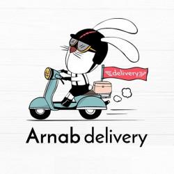 لوجو شركة arnab delivery
