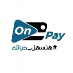 لوجو شركة on pay للخدمات الالكترونية