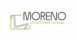 لوجو شركة مورينو للاثاث المكتبي والفندقي