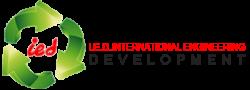 لوجو شركة آي.إي.دي الدولية للتنمية الهندسية