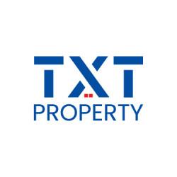 لوجو شركة تي اكس تي بروبرتي