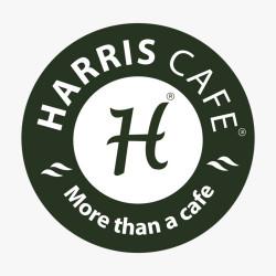 لوجو شركة المجموعة الدولية المتحدة للمطاعم (هاريس كافيه)